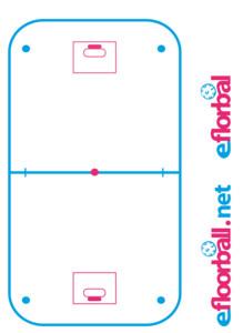 Florbalová trenérská tabule eFlorbal Bílá