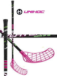 Florbalka Unihoc PLAYER3 Curve 1.5 35 black `14