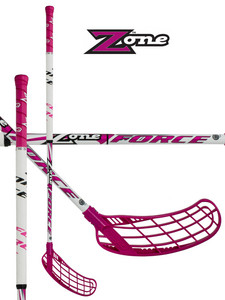 Florbalka Zone FORCE Ultralight Magenta/white 29 `14