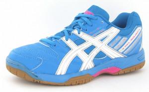 chaussures asics femme indoor gel squad