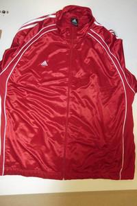 Sportovní bunda Adidas ´14 XXXL červená