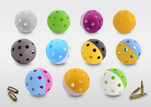 Necy Bullet Floorball ball