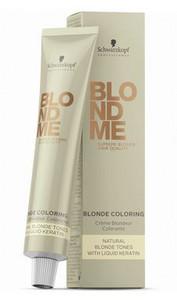 Schwarzkopf Professional BlondME Blonde Coloring 60ml 9-01 přírodní ledová