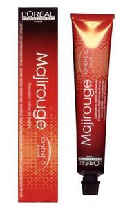 Barva na vlasy LOREAL MAJIROUGE 50ml 5.60 - světlehnědá intenzivní červené