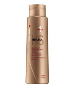 Kúra GOLDWELL KERASILK Keratin Shape Medium 500ml