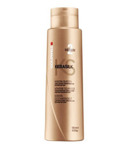 Kúra GOLDWELL KERASILK Keratin Smooth Medium 500ml