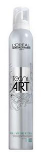 Pěna LOREAL TECNI ART Full Volume Extra 400ml