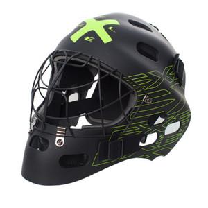 Brankářská maska Exel G1 HELMET SR `16 Senior černá / žlutá