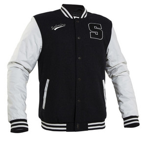 Salming Baseball Jacket L tmavě šedá