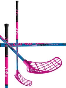 Florbalová hokejka Unihoc Cavity Curve 1.5 29 SMU `15 cerise Pravá ruka níže 100cm (=110cm)