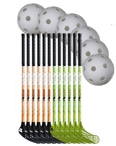 Floorball set Splash 80/91cm Team set