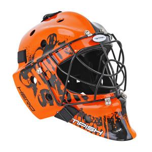 Brankářská maska Tempish Hero color `16 Senior oranžová / černá