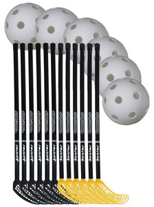 Floorball set Pro Junior 80/90cm team set