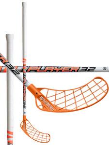 Florbalová hokejka Unihoc REPLAYER 32 neon orange/white `16 neonově oranžová / bílá Pravá (pravá ruka níže) 87cm (=97cm)