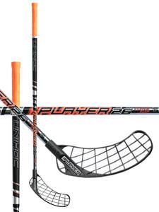 Florbalová hokejka Unihoc REPLAYER Curve 3.0º 26 black `16 černá Levá ruka níže 100cm (=110cm)