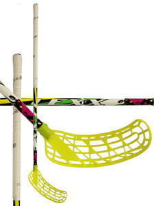 Floorball stick Lexx Black Wolf V1 3,2 Rainbow Yellow/Green `15
