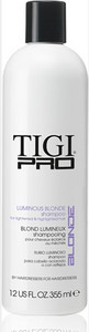 Šampon pro blond vlasy TIGI PRO Luminious Blonde Shampoo 355ml