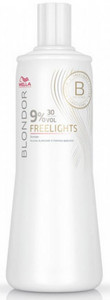 Vyvíječ WELLA PROFESSIONAL BLONDOR Freelights Developer 1l 30 Vol. 9%