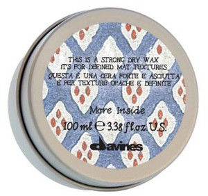 Vosk na vlasy DAVINES MORE INSIDE Strong Dry Wax 100ml