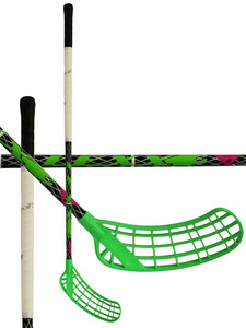Floorball stick LEXX Arctic A2 2,6 oval Black/Silver `15