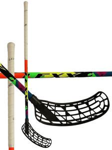 Floorball Stick Lexx Black Wolf V1 3,2 Nice Multi Yellow `15