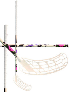 Floorball stick Lexx Black Wolf V1 3,2 Rainbow Silver/Purple `15