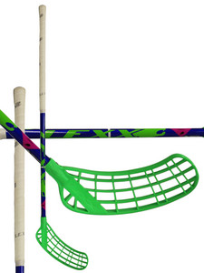 Floorball stick Lexx Tundra A2 2,6 Blue/Chrome/Green `15