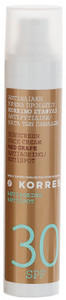 Korres Red Grape Sunscreen Face Cream SPF30