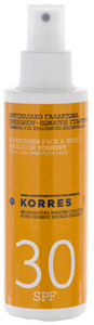 Korres Sunscreen Face & Body Emulsion Yogurt SPF30