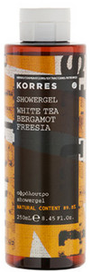 Korres White Tea/ Bergamot/ Freesia Showergel