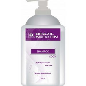 Hydratační šampon s vůní kokosu BRAZIL KERATIN Coco Shampoo 500ml