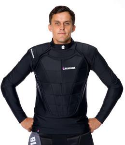 Brankářská vesta Blindsave dlouhá s reboundem XL černá
