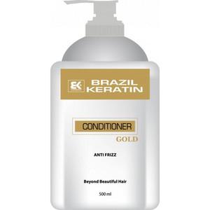 Brazil Keratin Gold Conditioner Anti Frizz 500ml
