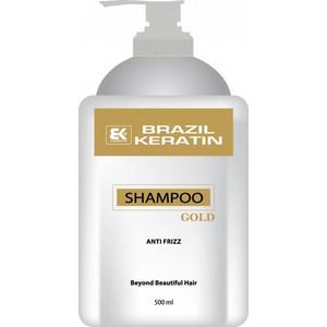 Brazil Keratin Gold Anti Frizz Shampoo 500ml