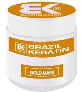 Vyhlazující maska BRAZIL KERATIN Gold Mask 500ml