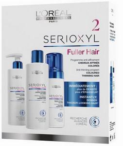 Set pro barvené prořídlé vlasy LOREAL PROFESSIONNEL SERIOXYL Kit ...
