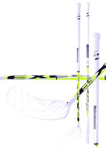 Florbalová hokejka Exel EDGE 2.9 White/Yellow `15 bílá / žlutá Levá (levá ruka níže) 98cm (=108cm)