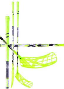 Florbalová hokejka Exel EDGE 3,4 Yellow/White `15 žlutá / bílá Levá (levá ruka níže) 87cm (=97cm)