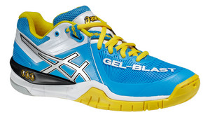 Asics Gel Blast 6 W modrá / bílá / žlutá Žena UK 7 | US 9 | EU 40,5