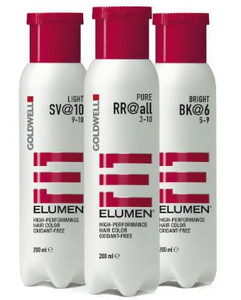 Goldwell Elumen Hair Color semi-permanent hair color