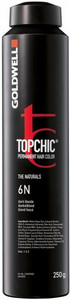 Goldwell Topchic Permanent Hair Color 250ml 6/B - zlatá hnědá