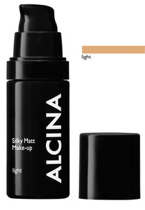 Alcina Silky Matt Make-up 30ml Light