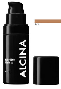 Alcina Silky Matt Make-up 30ml Dark
