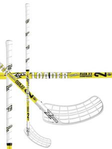 Florbalová hokejka ZONE Top Loader Light 27 yellow `15 žlutá Pravá (pravá ruka níže) 100cm (=110cm)