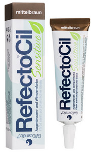 Barva na řasy a obočí REFECTOCIL Sensitive Eyelash & Eyebrow Tint 15ml Střední hnědá
