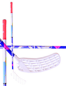 Floorball stick Lexx Timber C4 2,6 oval Navy/Silver/Red `15