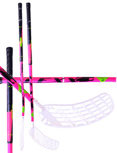 Floorball stick Lexx XCurve C4 3,2 Pink/Black `15