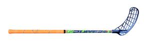 Florbalová hokejka Unihoc PLAYER+ 32 neon orange/blue `16 oranžová / modrá Levá ruka níže 87cm (=97cm)