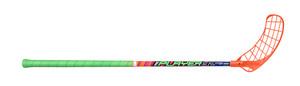 Florbalová hokejka Unihoc REPLAYER Curve 1.5º 32 neon green `16 neonově zelená / neonově oranžová Pravá ruka níže 87cm (=97cm)