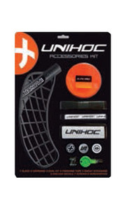 Sada Unihoc REPLAYER blade accessories kit medium black `16